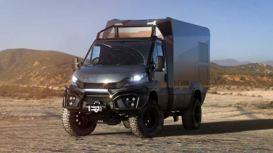 Darc Mono Dakar-Inspired Carbon Fiber RV Is Afraid Of Nothing