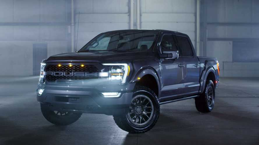 Roush-Tuned 2021 Ford F-150 Boasts Improved Suspension, Meaner Look