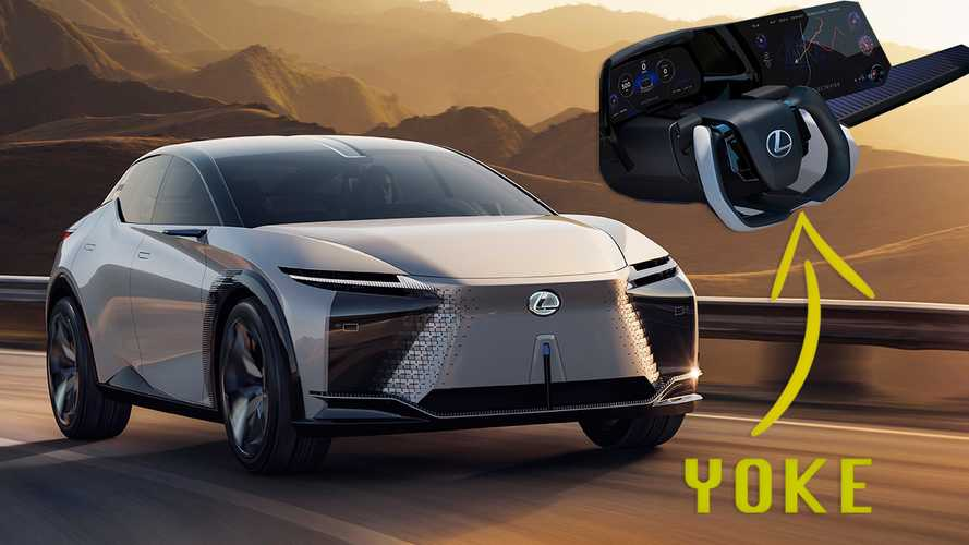 Lexus LF-Z Electrified Concept Announces Commitment To EVs And Sportiness