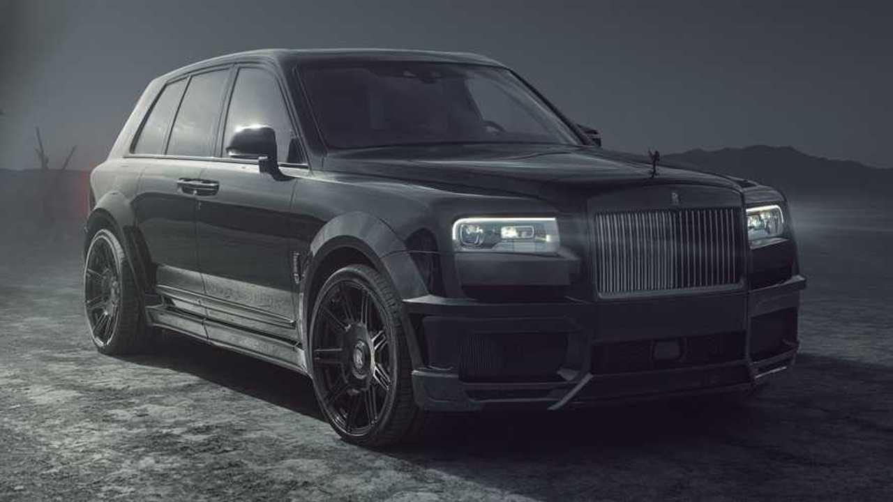 Rolls-Royce Cullinan preparado por Spofec