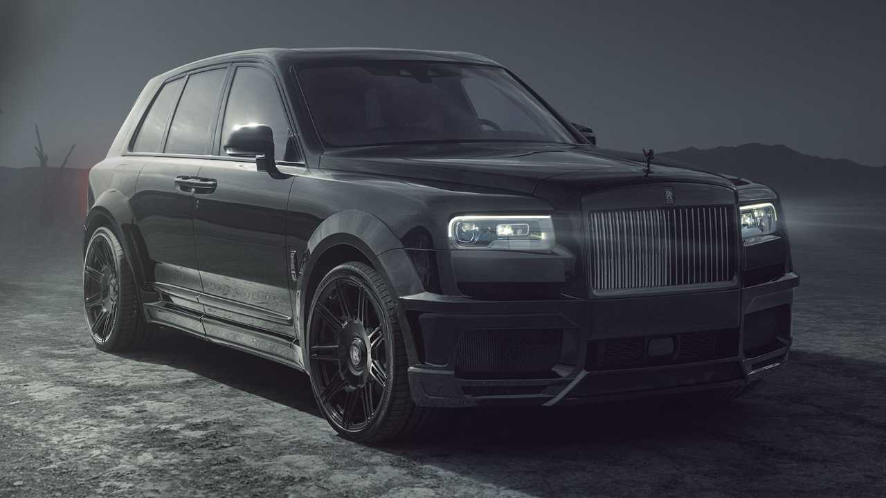 Spofec announces Rolls-Royce Cullinan SUV upgrades.