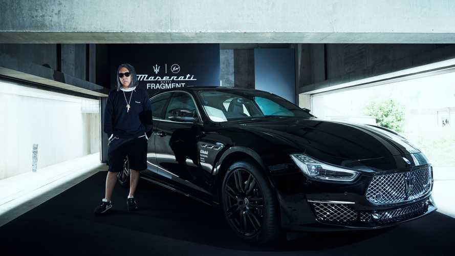Maserati Partners With Fashion Brand Fragment For Special Ghibli