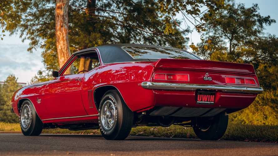 Now's Your Chance To Win This Amazing Classic Chevy Camaro SS
