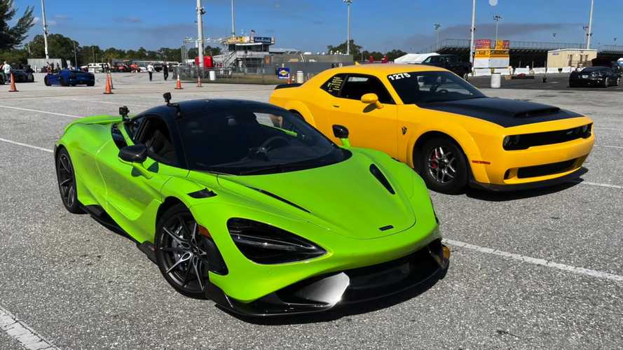 Once dominant Dodge Demon no match for McLaren in latest drag race