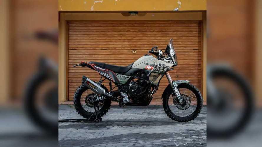 Here's Pol Tarres' New Custom Yamaha Ténéré 700