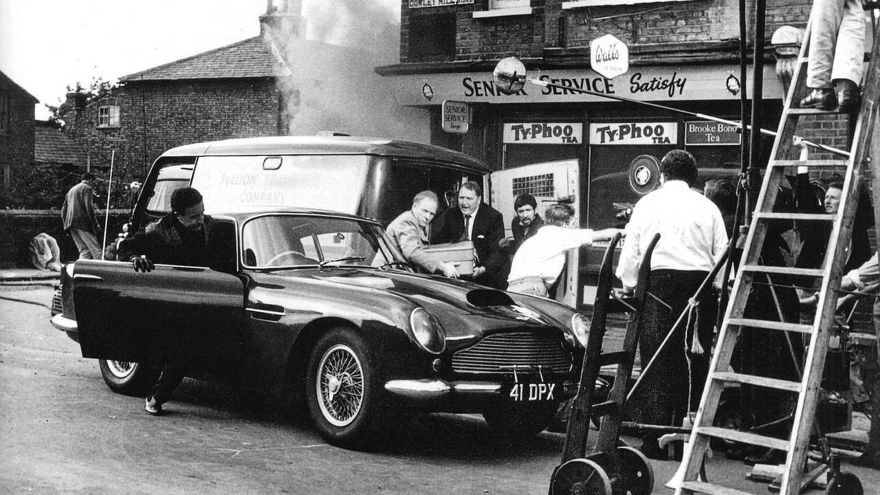 Peter Sellers' Aston Martin DB4 GT up for auction!