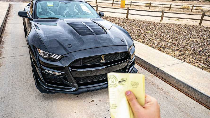 Here's How Much The 2020 Mustang Shelby GT500 Really Weighs