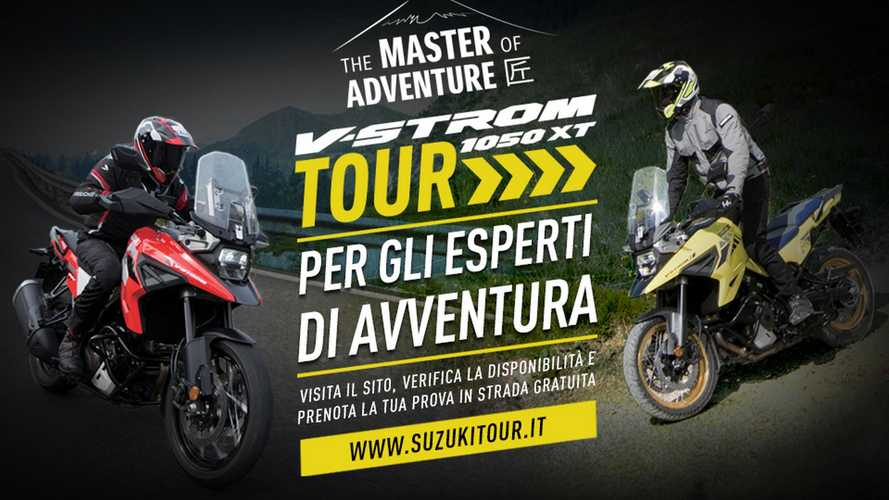 Suzuki V-Strom Tour 2020: 20 e 21 giugno test-ride in tre regioni