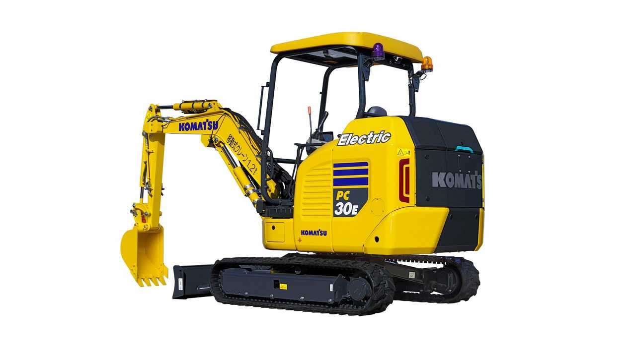 Komatsu PC30E-5 Electric Mini Excavator
