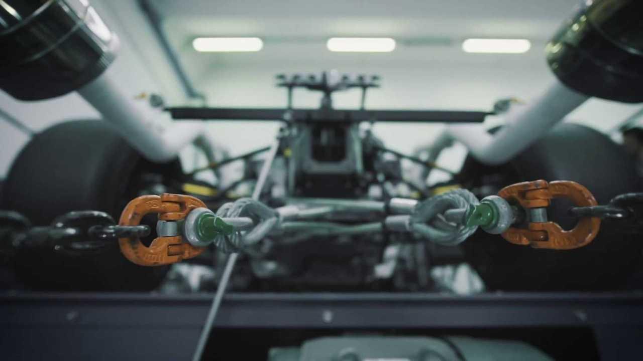 Track-only Lamborghini hypercar teaser