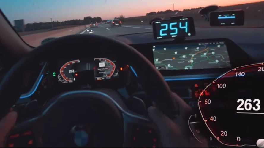 BMW Z4 - 5 Serisi Touring prototipi kovalamaca