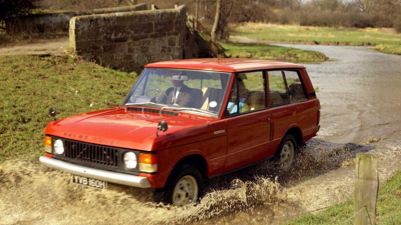 Le Range Rover a 50 ans