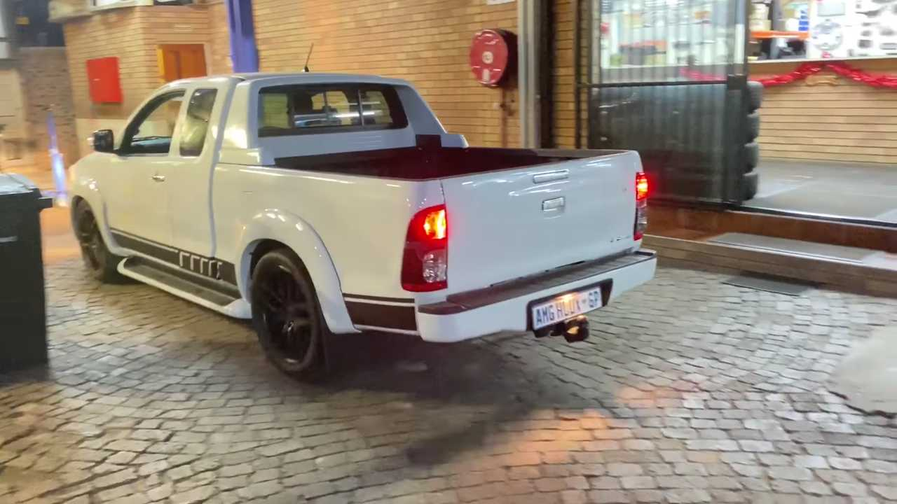 Toyota Hilux With Mercedes-AMG V8 Sounds Amazing