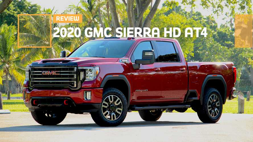2020 GMC Sierra 2500 AT4 Diesel Review: Rugged But Unrefined