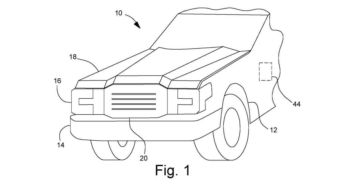 Ford Front Trunk Patent