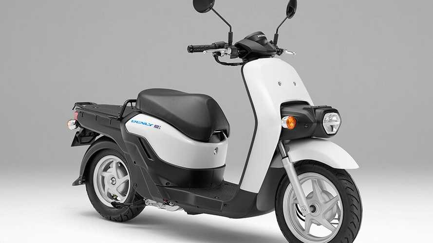 Honda Is Bringing Its Electric Benly Scooters To Market