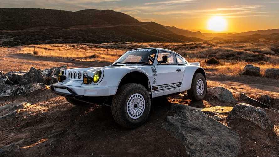 Este genial Porsche 911 Baja está listo para correr en el desierto