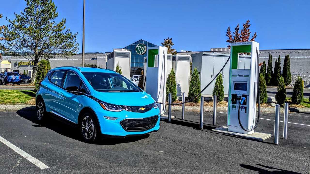 Chevy Bolt EV charging