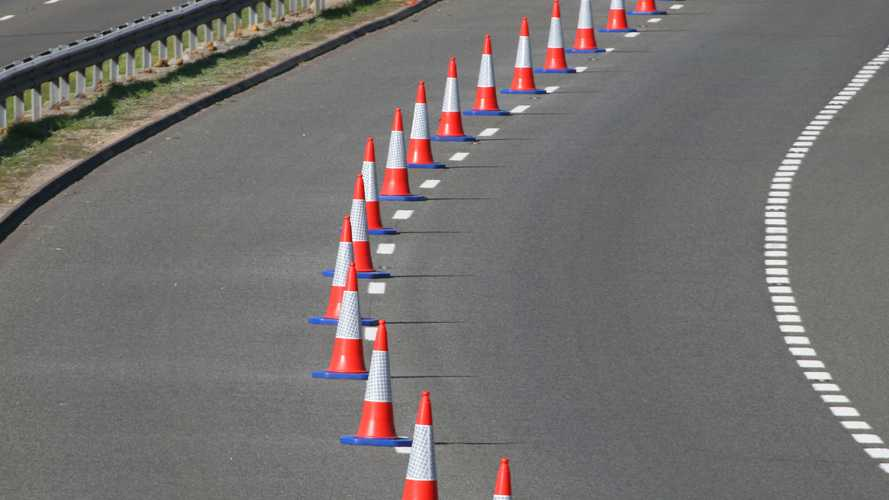 Automated cone-laying trucks coming soon to a motorway near you