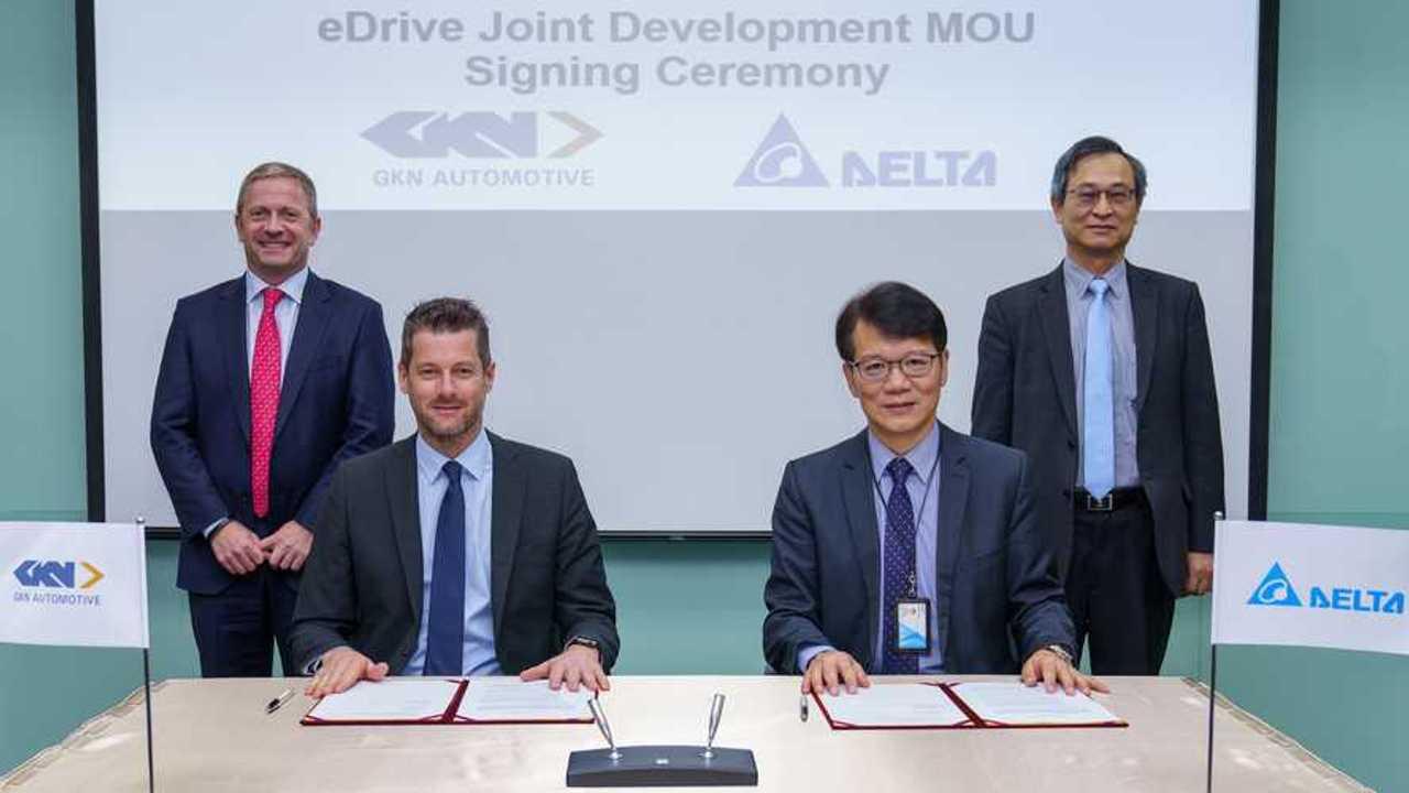 GKN Automotive and Delta Electronics