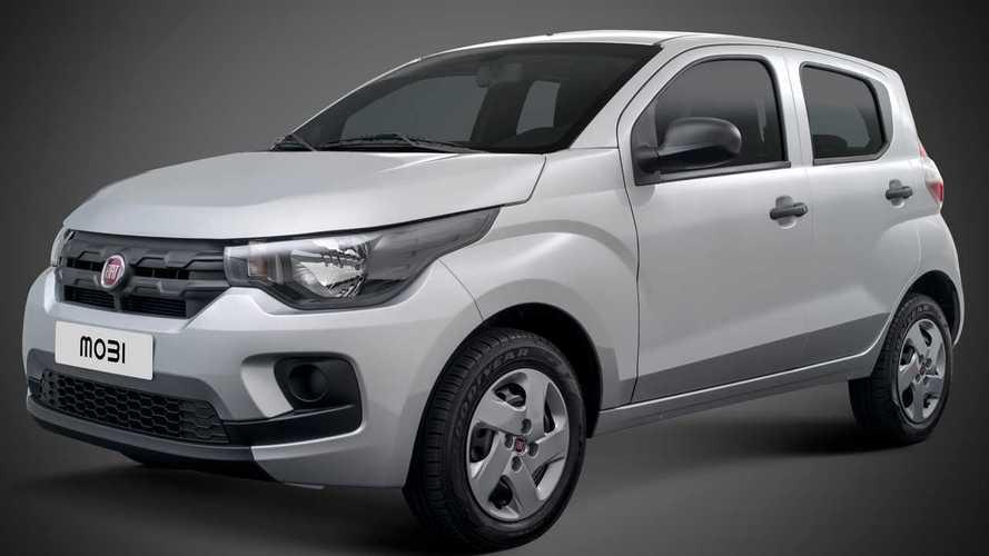 Fiat Mobi sobe de preço e deixa de ser o carro mais barato do Brasil