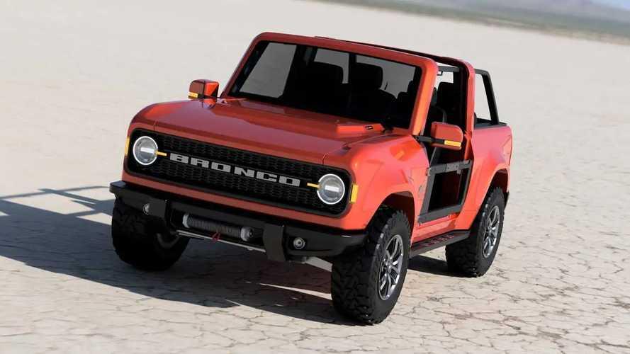 2020 Ford Bronco new renderings
