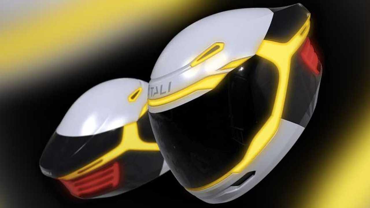 Tali Connected Smart Helmet Concept
