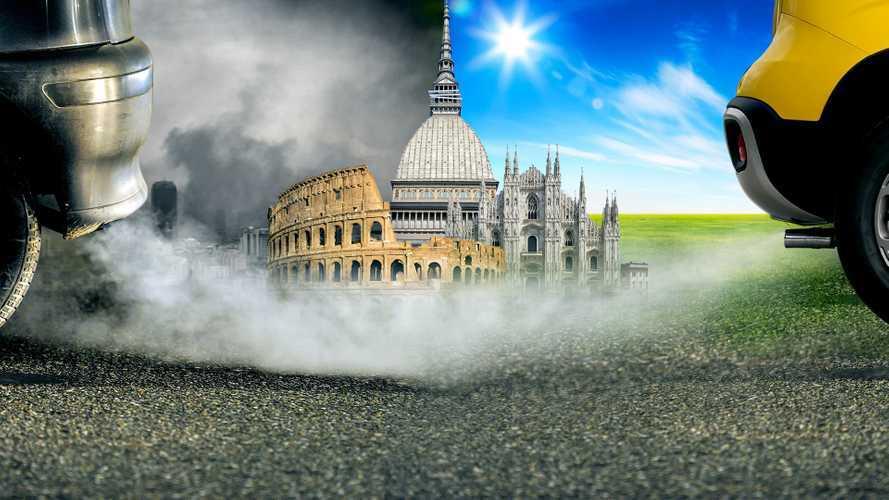 Blocco del traffico a Milano, Roma e Torino: chi può circolare