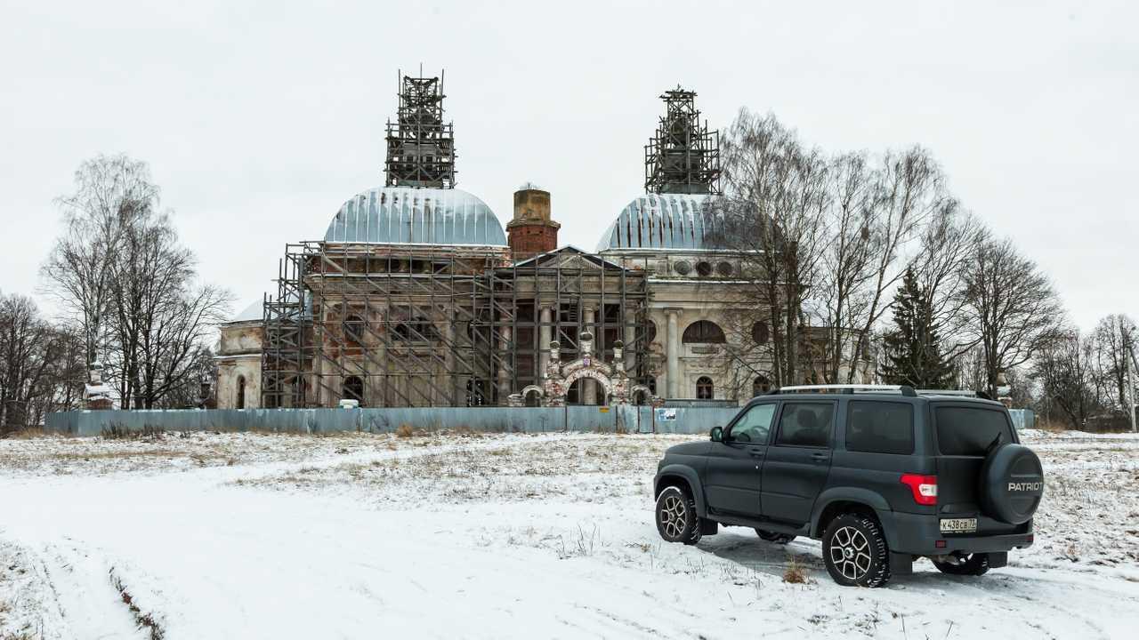 Москва - Тверь - Москва на «УАЗ Патриот»