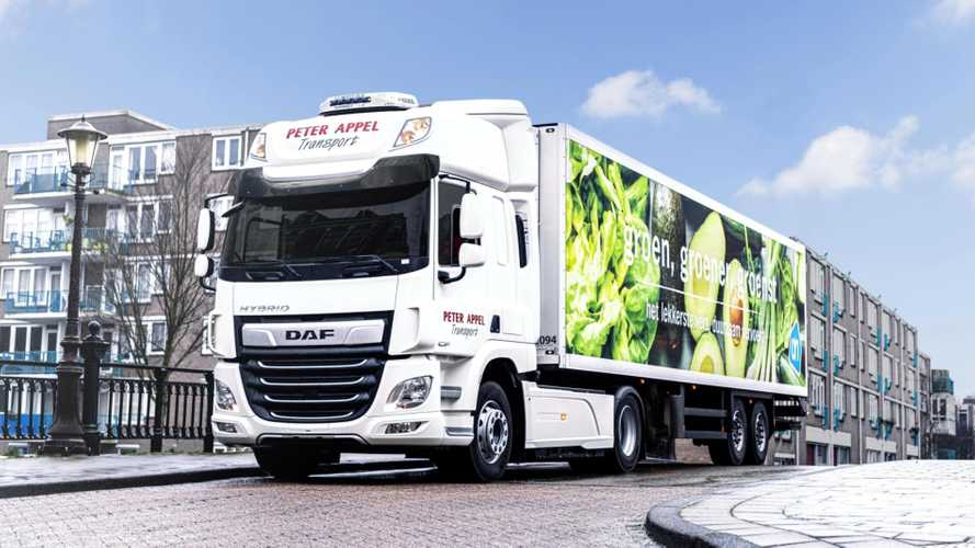 DAF Starts Field Test With CF Hybrid (PHEV) Truck