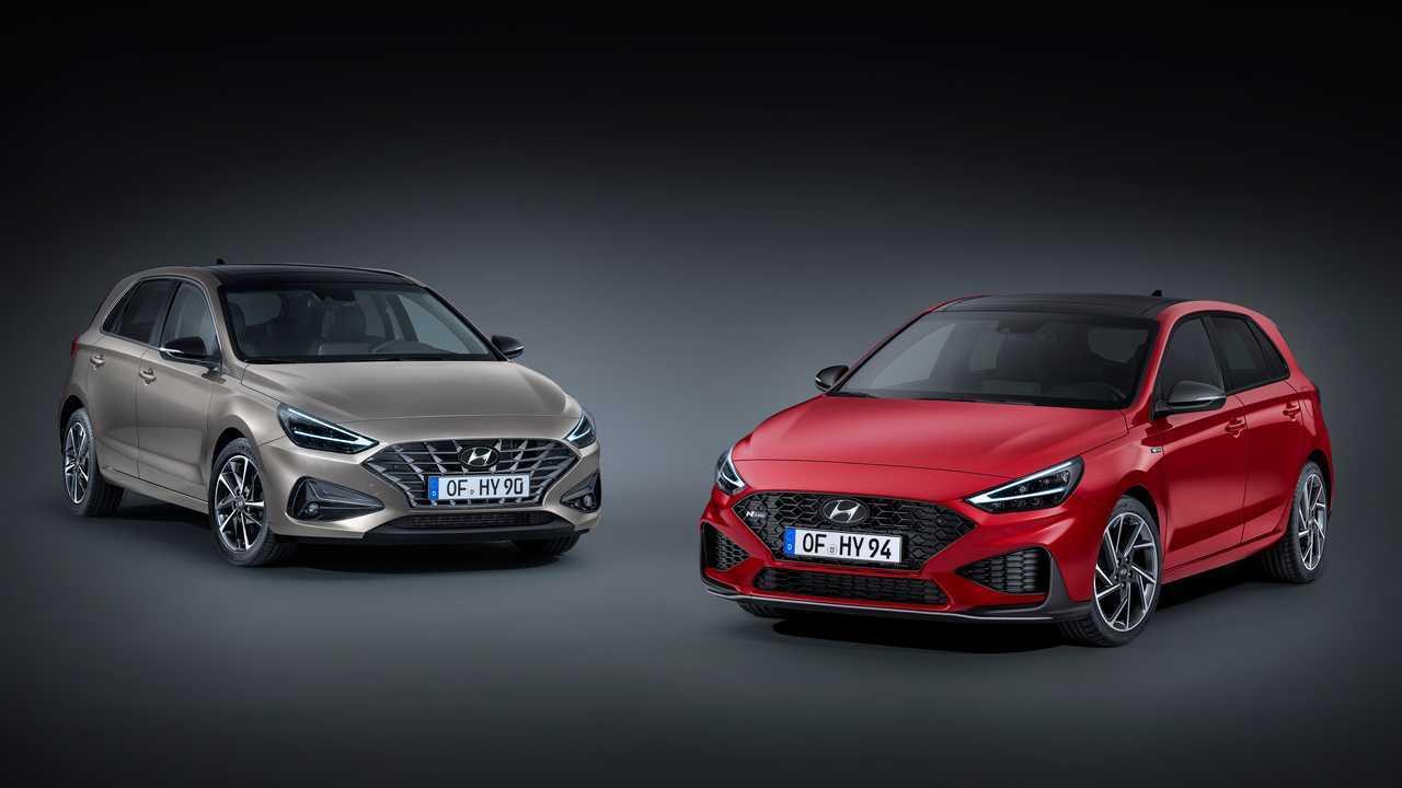 2021 Hyundai i30 N Line facelift