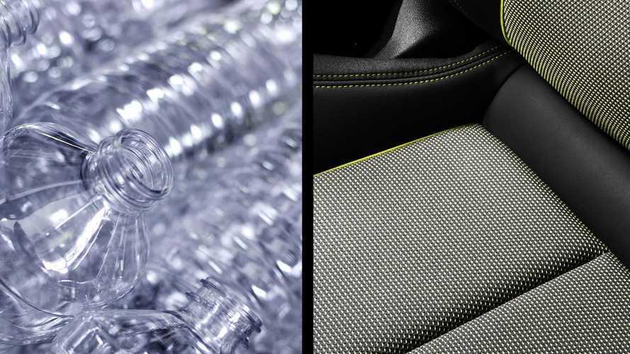 Nuova Audi A3, 100 bottiglie riciclate per i rivestimenti interni