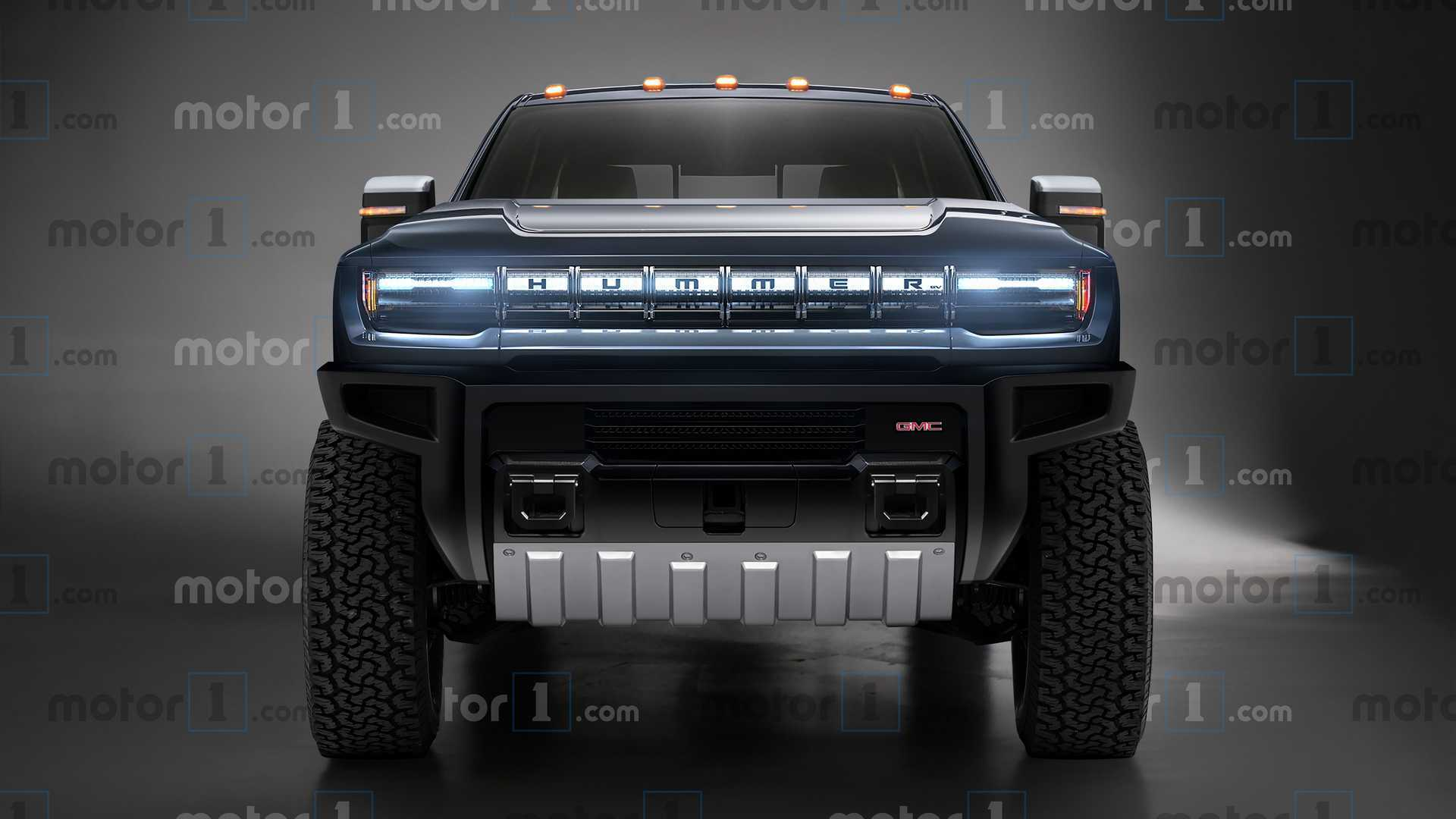 Gmc Hummer Ev Imagined As A Three Row Suv
