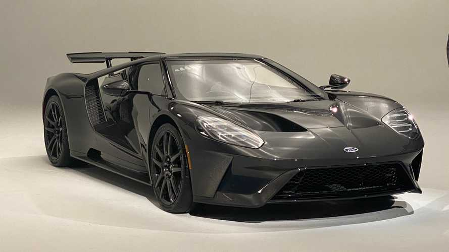 Ford GT Liquid Carbon Edition adds horsepower, drops jaws