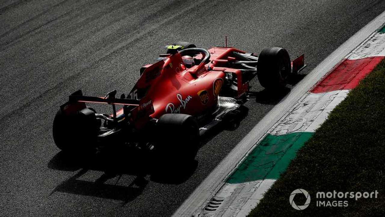 Charles Leclerc at Italian GP 2019