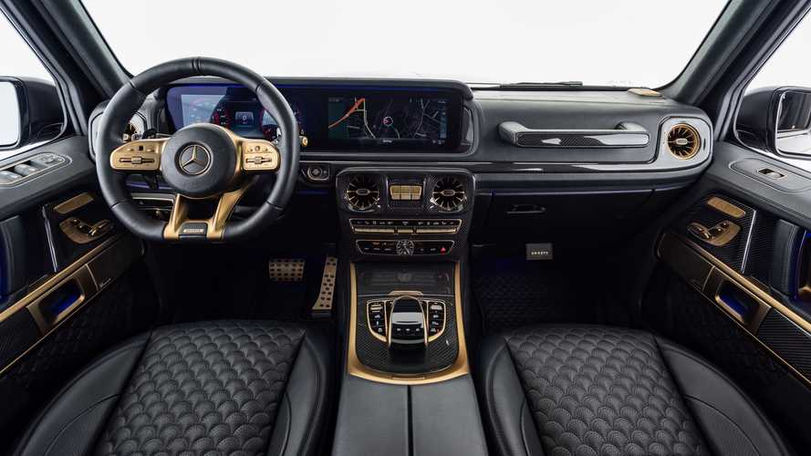 Mercedes-AMG G63 Black And Gold Edition by Brabus