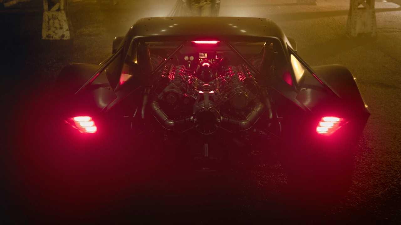 Batmobile For Robert Pattinson's Batman