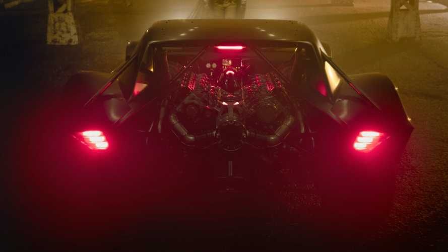 Here's a good look at the new Batmobile in broad daylight