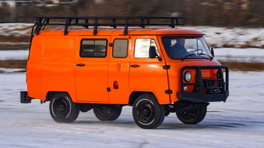 UAZ SGR Expedition Is The Coolest Off-Road Van You Can Buy Today