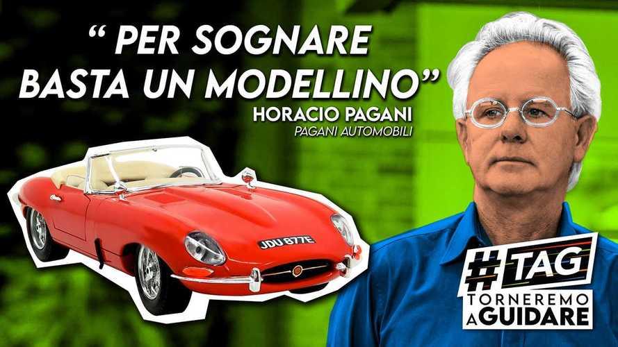 Per sognare un'auto basta il suo modellino. Parola di Horacio Pagani
