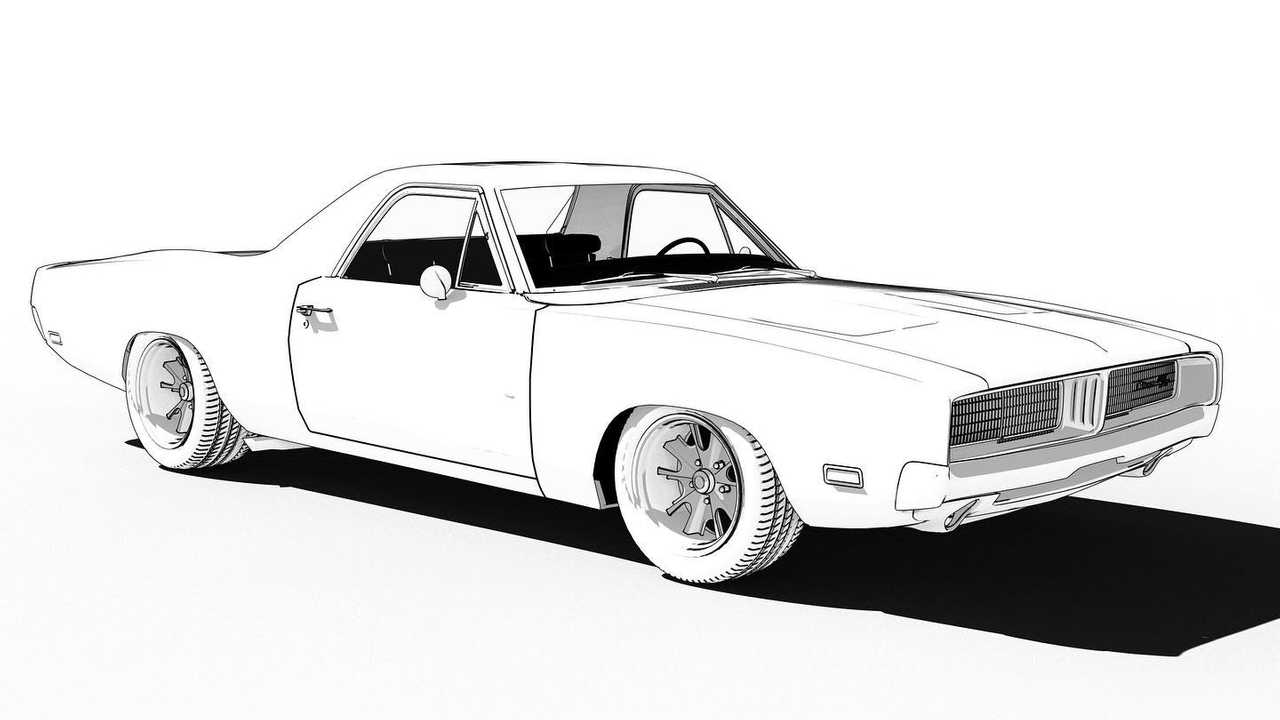 Brawny Muscle Car Coloring Pages American Muscle Cars - Cars ... | 720x1280