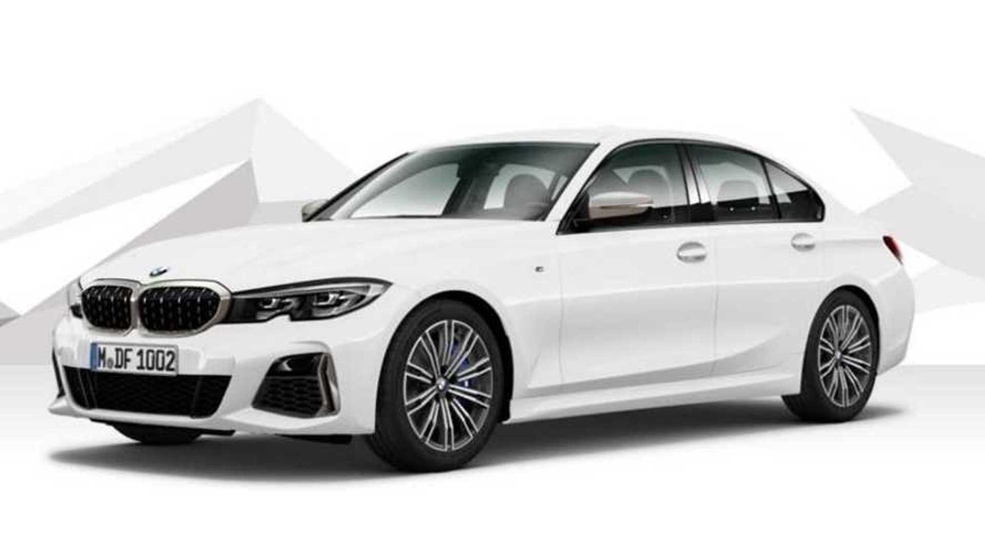 Yeni BMW 3 Serisi'nin M340d adlı performanslı versiyonu ortaya çıktı