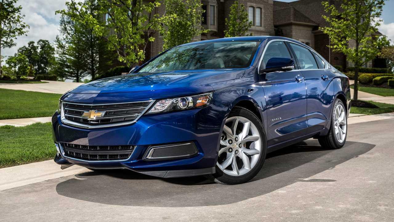 2015 Chevrolet Impala LT: $10,781