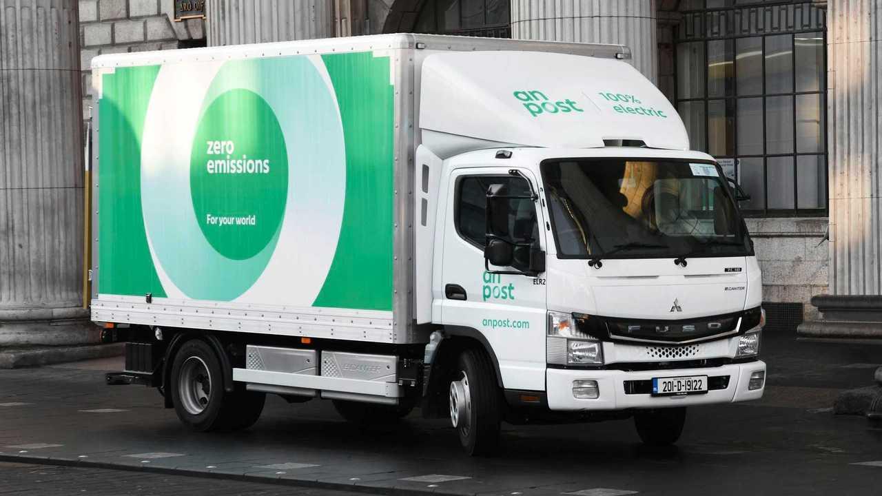 Two Fuso eCanter Join Irish Post Service In Dublin