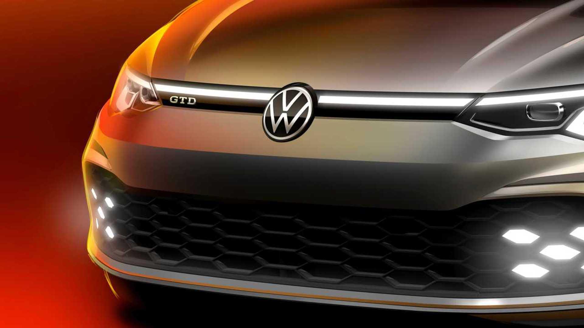 2020 - [Volkswagen] Golf VIII - Page 11 2021-vw-golf-gtd-teaser