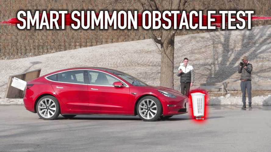 Take Two: Tesla Smart Summon Versus Crazy Everyday Obstacles