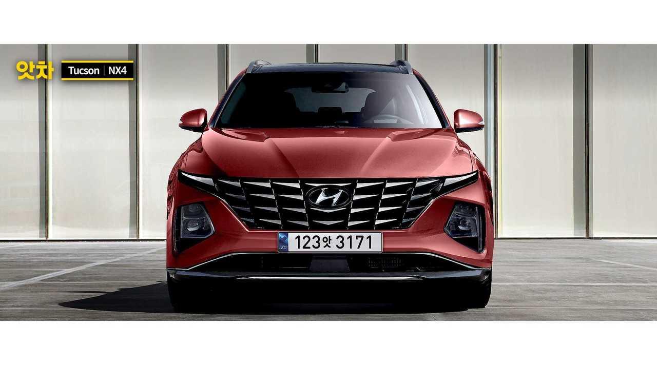 2021 Hyundai Tucson renderelés