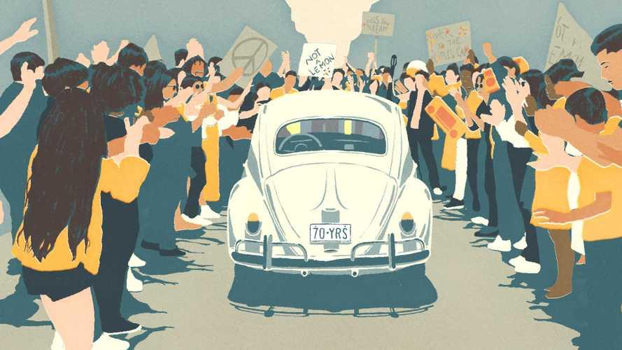 Vídeo: Volkswagen dá adeus (definitivo) ao Fusca