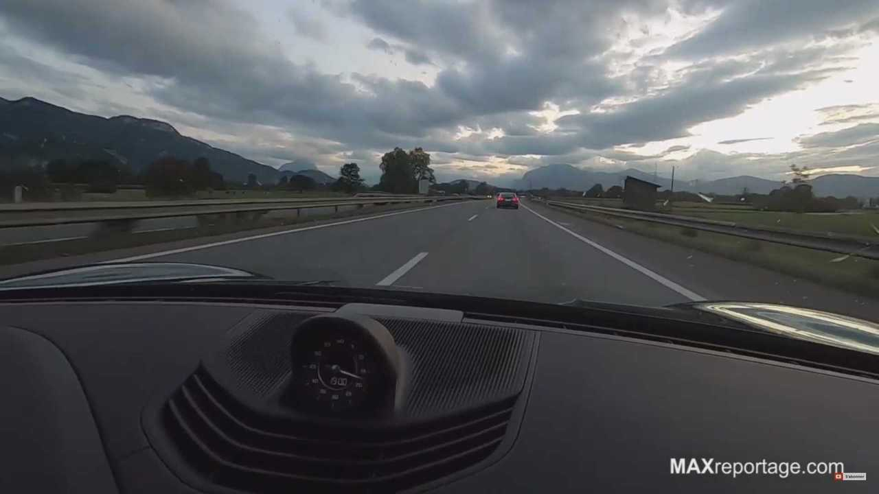 18 - Watch Porsche Taycan Try To Overtake Tesla Model S 100D On Autobahn