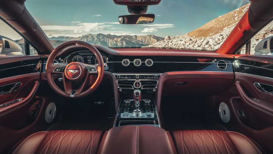 Bentley Flying Spur features breathtaking new interior